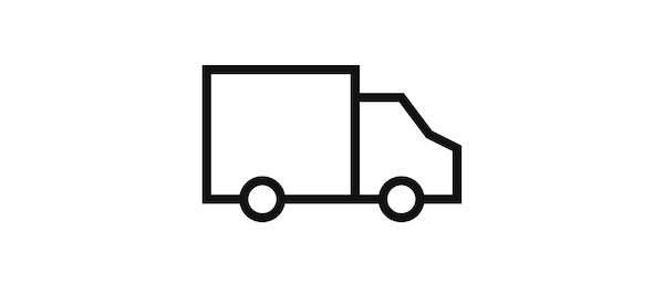 Pictogram of the delivery service