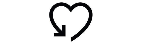 Pictograma de um coração