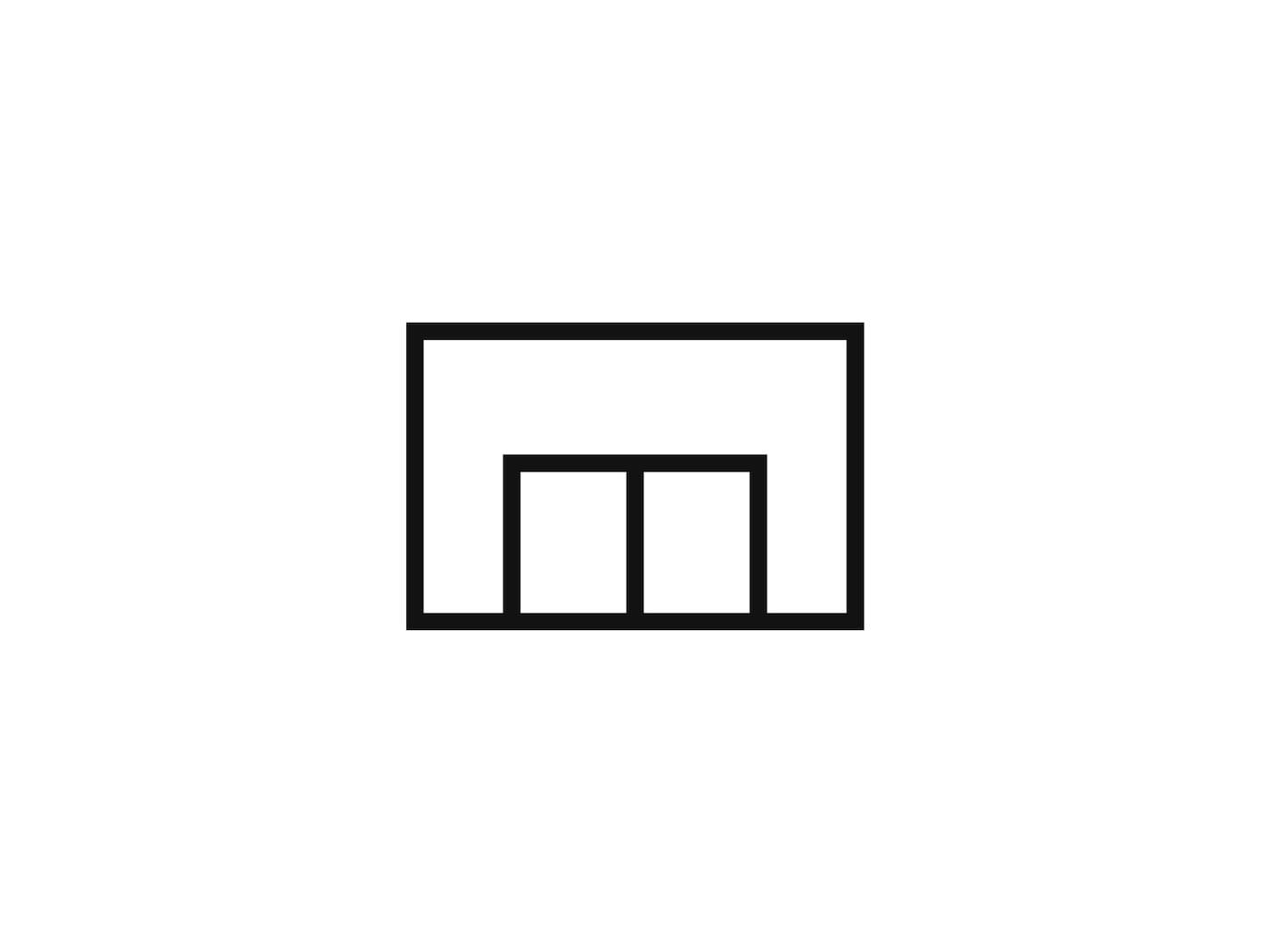 Piktogram symbolizující nákup v obchodním domě.