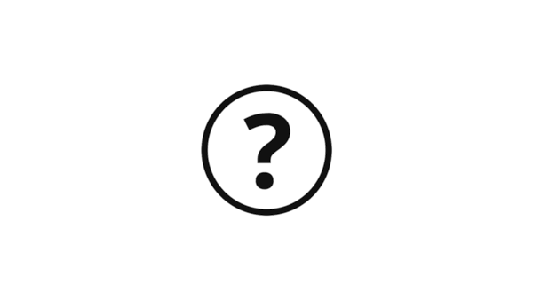 Piktogram ve tvaru kruhu s otazníkem uprostřed symbolizující dotazy zákazníků.
