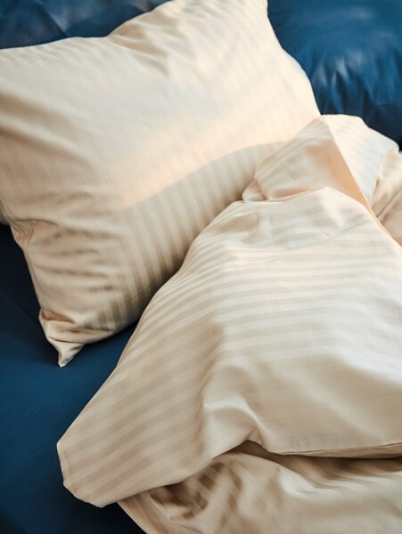 Pillow and comforter