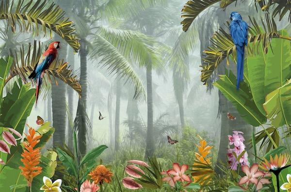 pjatteryd afbeelding zonder lijst, jungle