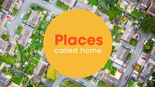 Places called home IKEA campaign image.
