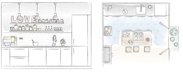 Plan kuchni Libertad