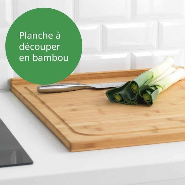 Planche à découper en bambou LÄMPLIG