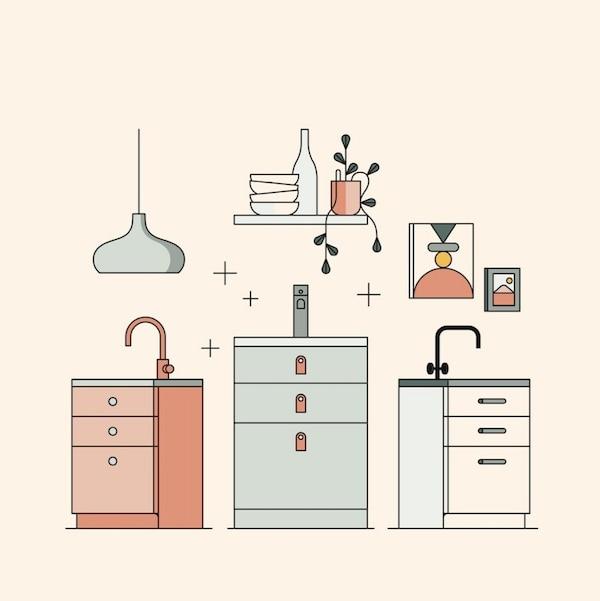 Planificador de cocinas ENHET