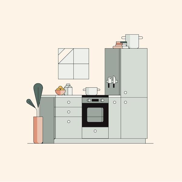 Planifique a sua cozinha