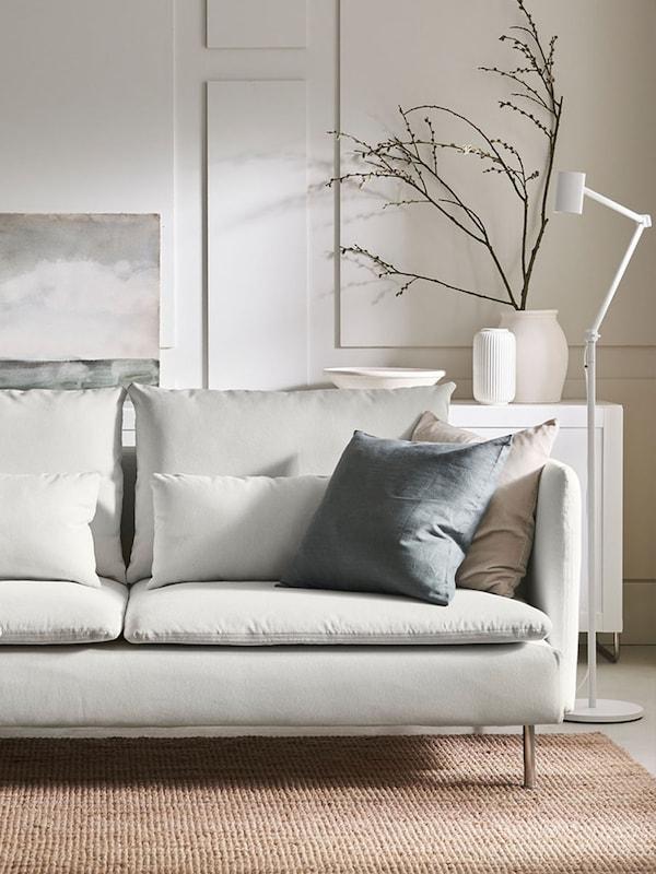 Planlegg en perfekt SÖDERHAMN-sofa.