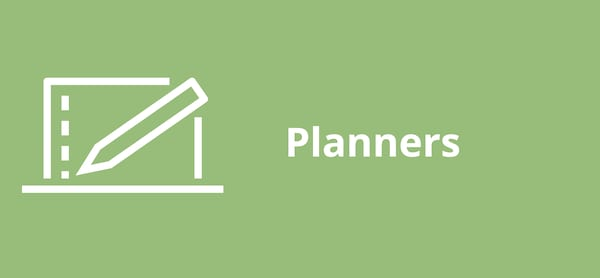 Planners pictogram