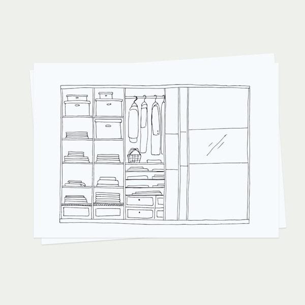 Plánování a návrh ložnice.