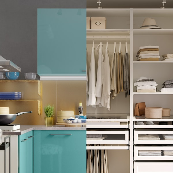 Plánovanie kuchyní a úložných priestorov na diaľku.