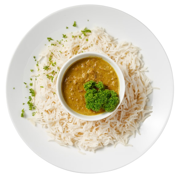 Plant based Indian korma IKEA Restaurant