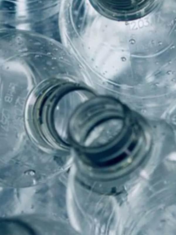Plastic drankflesjes
