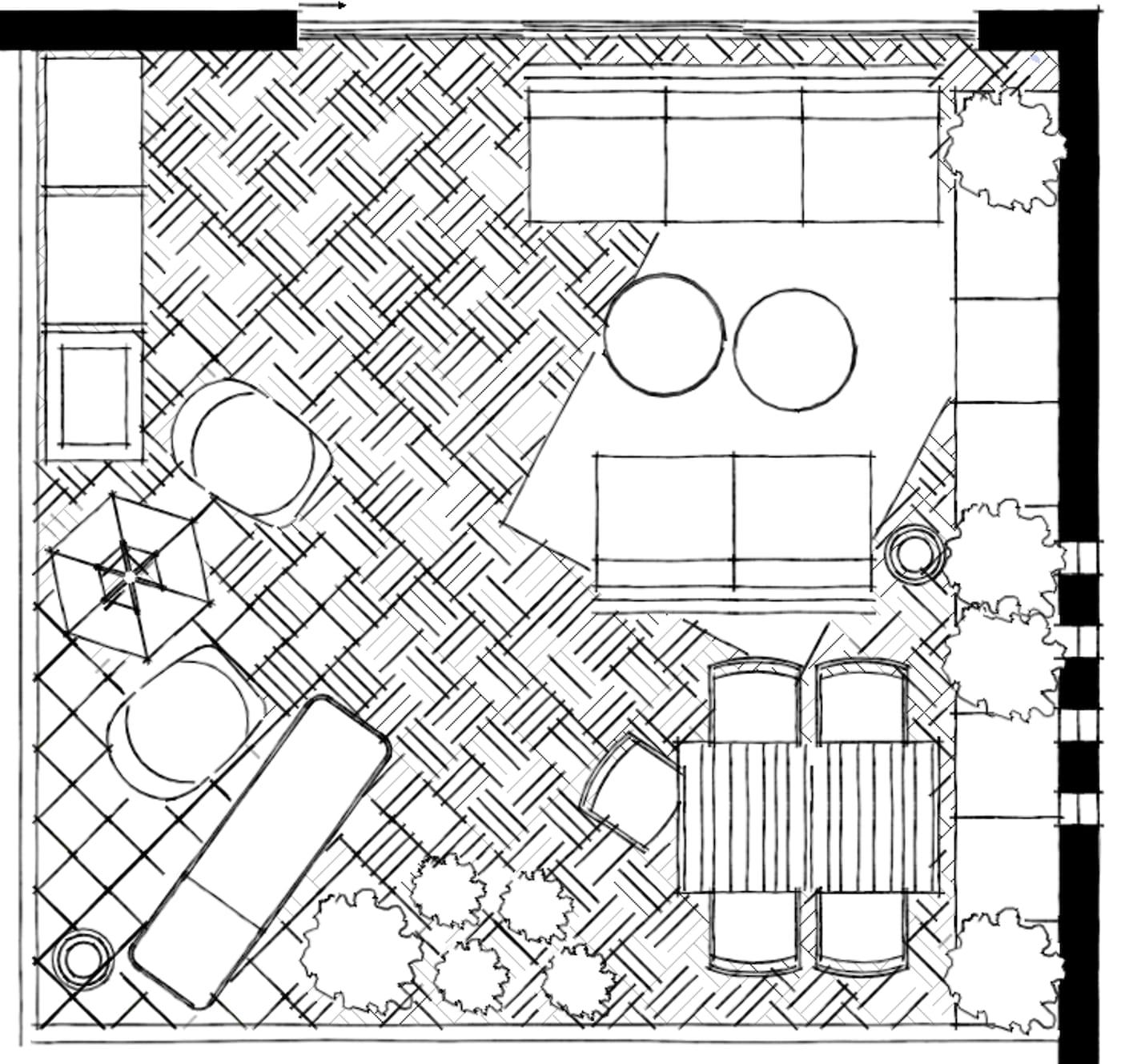 Ikea Zitzak Buiten.Troosteloze Tuin Woonfrustratie Van Nienke Resley Ikea