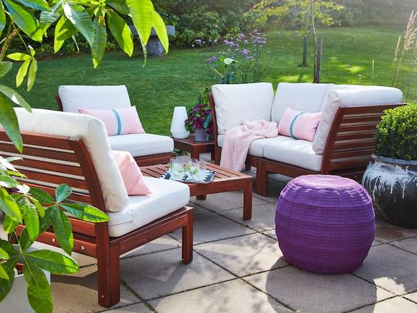 Platz zum Atmen: Eine Terrasse für den Frühling
