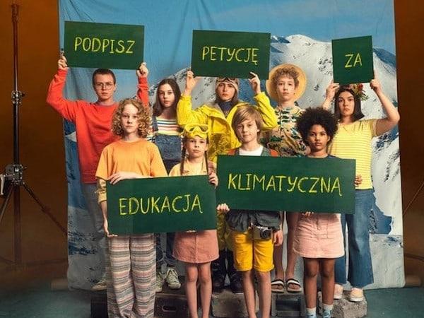 Podpisz petycję za edukacją klimatyczną.
