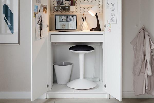 Pomysły na małe biuro w domu