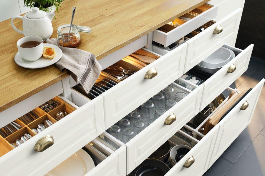 Pomysly Na Organizacje Szafek W Kuchni Ikea