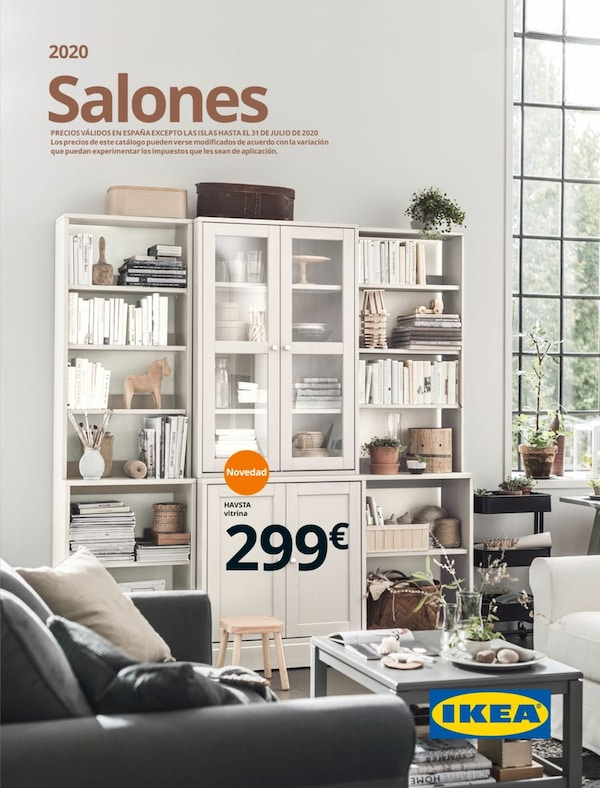 Portada do folleto de salóns IKEA 2020