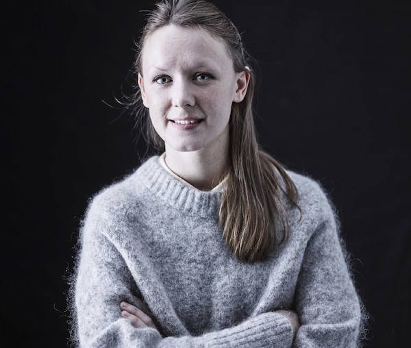 Portrait of Emma Parkinson, IKEA interior designer who has worked at IKEA for more than 2.5 years.