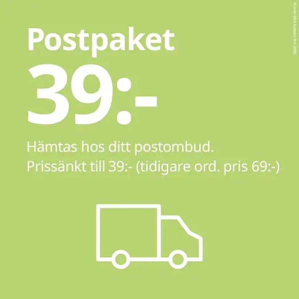 Postpaket 39:-