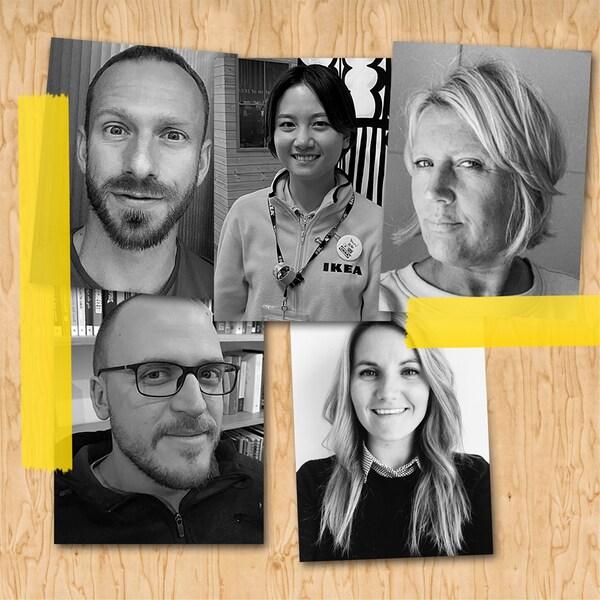 Prezrite si rozhovory so zamestnancami IKEA zcelého sveta, ktorí sa svami podelia otipy, ako si zariadiť domov.
