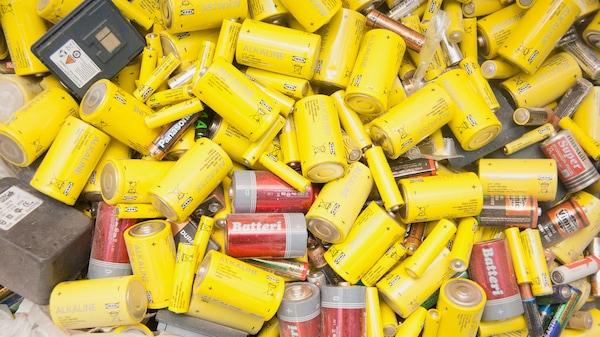 прием батареек в переработку