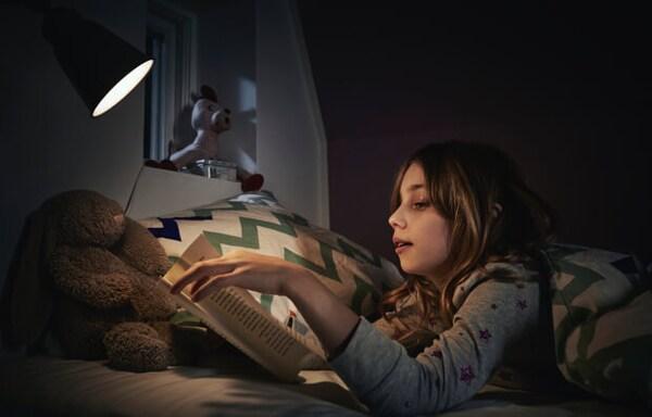 Прикроватная ночная лампа