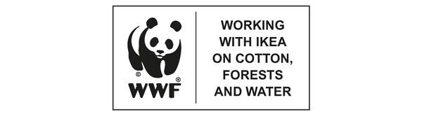 Prilikom kupovine održivih pamučnih proizvoda kompanije IKEA, doprinosiš manjem zagađenju u svetu u kojem će tvoje dete odrastati.
