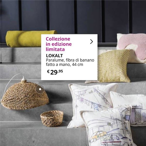 Prodotti della collezione LOKALT IKEA