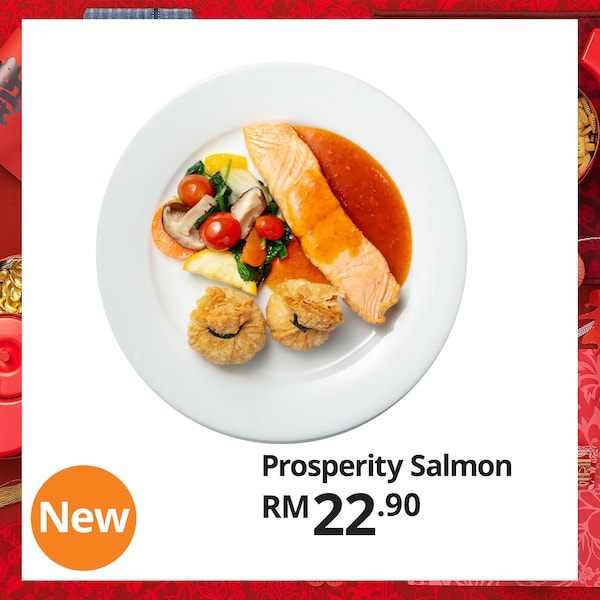 Prosperity Salmon for Chinese New Year, IKEA Home Furnishings Malaysia