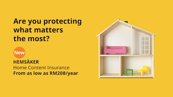 Protect your home with HEMSAKER Home Content Insurance