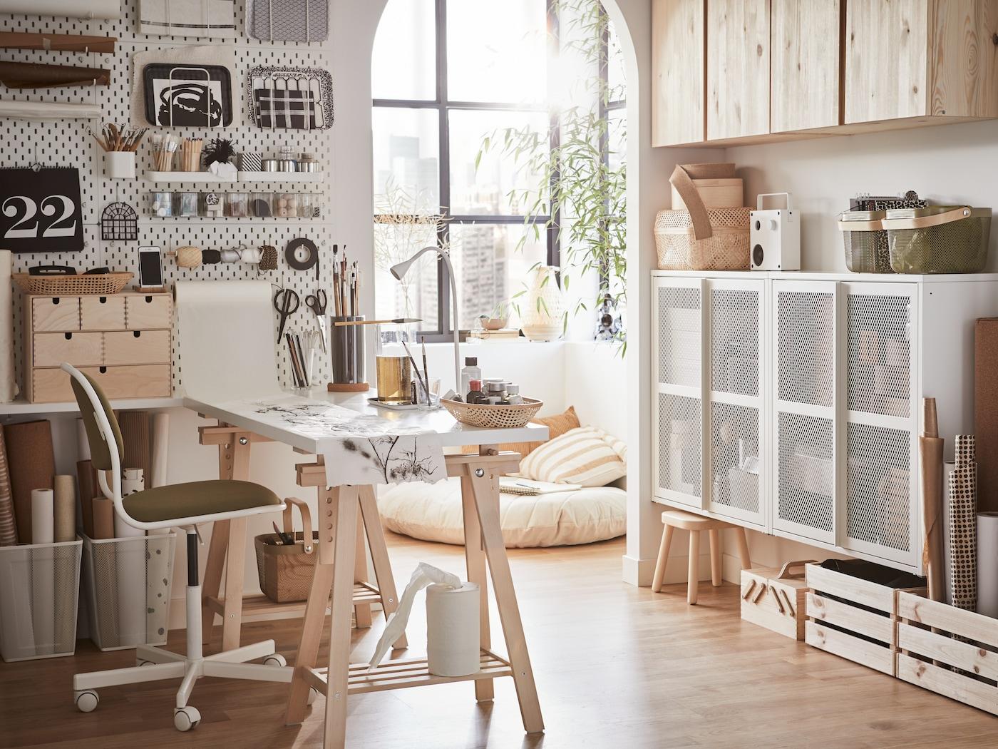 Przestrzeń pobudzająca kreatywność