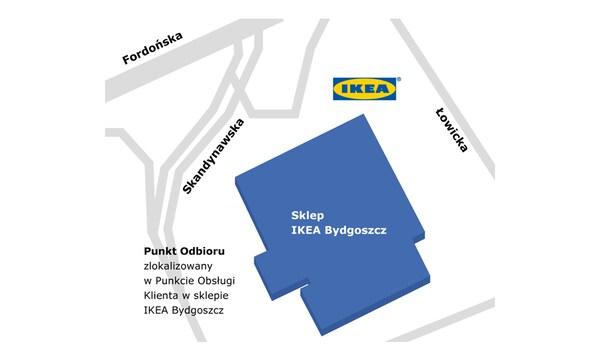 Punkt odbioru w sklepie IKEA Bydgoszcz