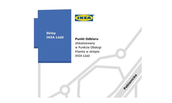 Punkt odbioru w sklepie IKEA Łódź