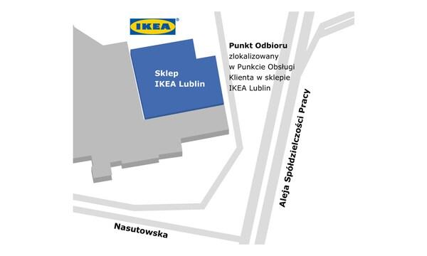 Punkt odbioru w sklepie IKEA Lublin
