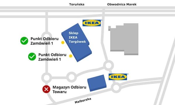Punkt odbioru w sklepie IKEA Targówek