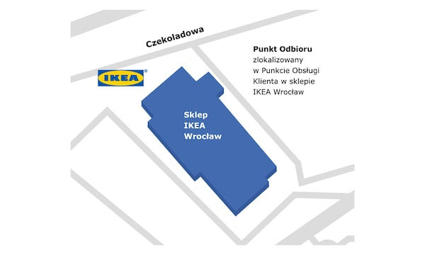Punkt odbioru w sklepie IKEA Wrocław