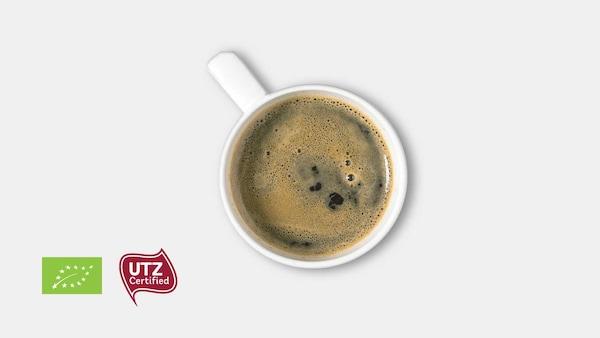 قهوة (عضوية وحاصلة على اعتماد UTZ)
