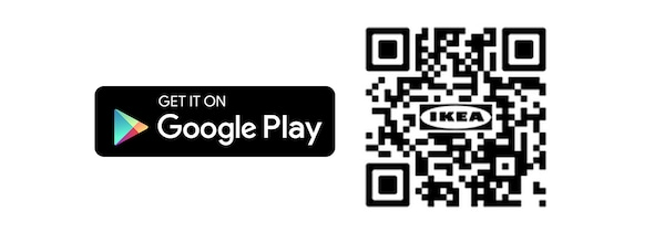 QR code IKEA Android Store app