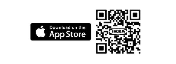 QR code IKEA Place app
