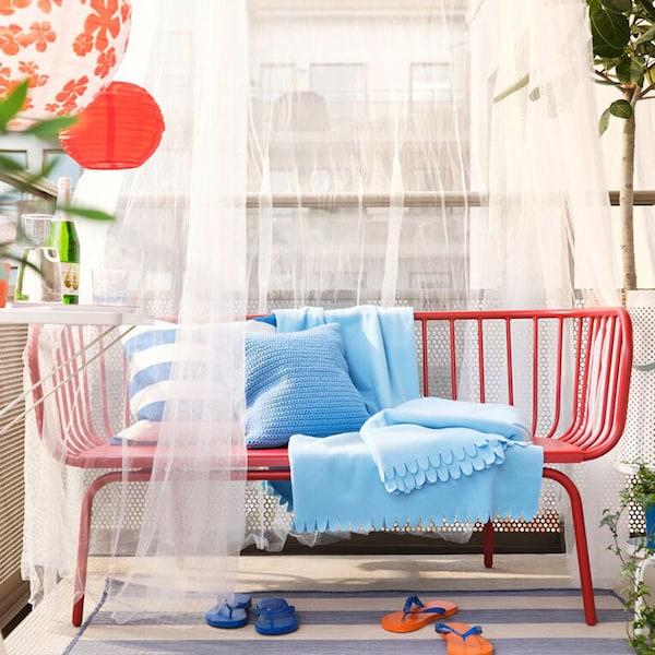 Quatre étapes pour créer un café de plage sur votre balcon