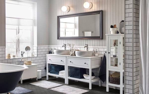 Lasciati ispirare dai nostri bagni ikea for Progettare bagno ikea