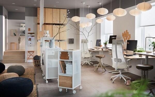 Ikea Mobili Per Ufficio.Un Ufficio Efficiente Che Pensa Al Tuo Benessere Ikea