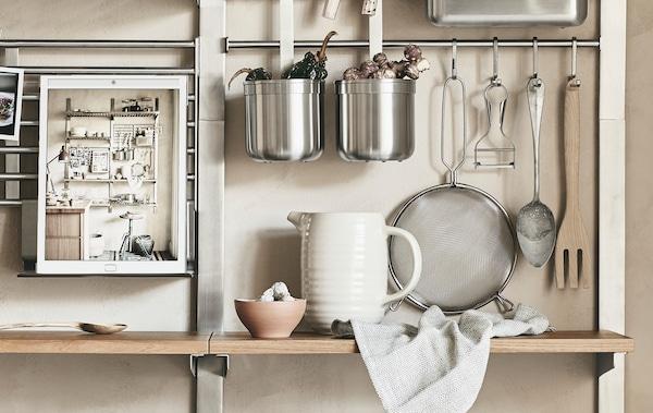 Decouvre Kungsfors Un Nouveau Rangement Pour La Cuisine Ikea