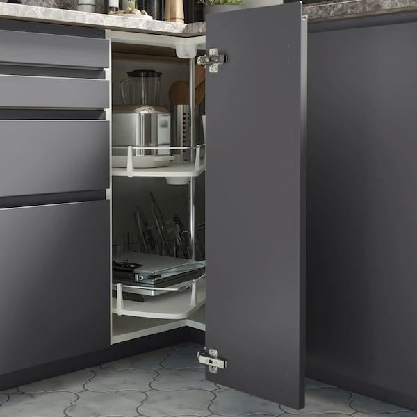 Rangement pour meuble de cuisine d'angle VOXTORP gris