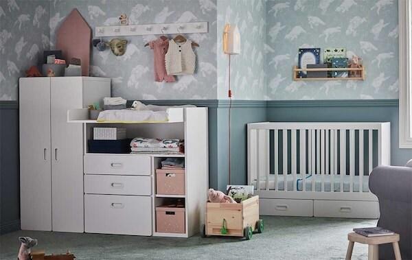 Rangements chambres d'enfant TROFAST chez IKEA