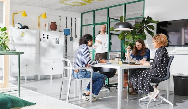 Ratgeber Bürobeleuchtung: optimale Lichteinfallsrichtung