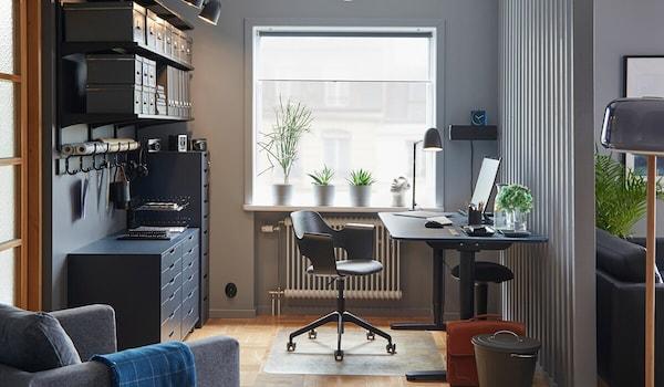 Ratgeber Home Office im Wohnzimmer