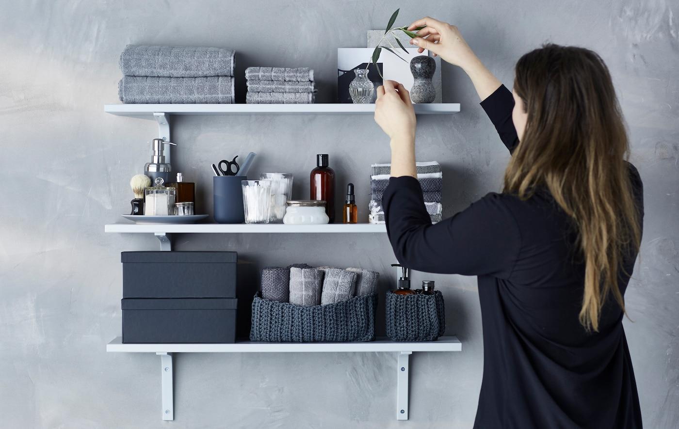 Trend Etagere Murale Salle De Bains Ikea